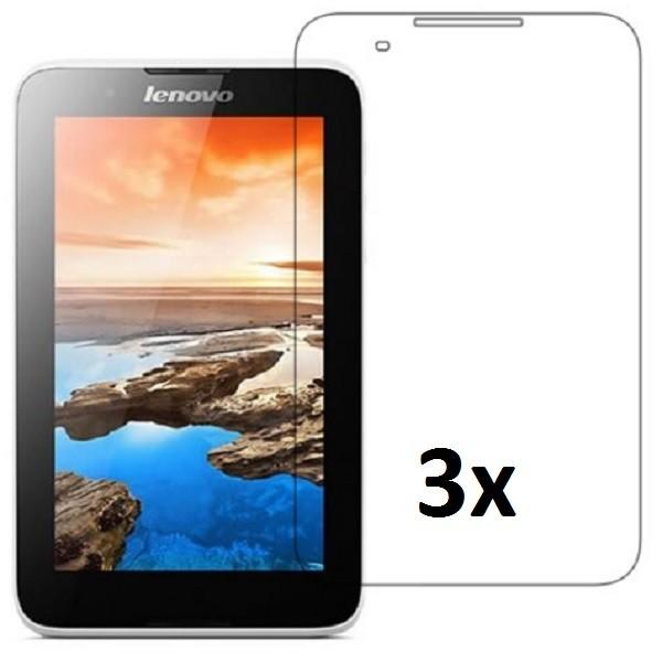 3x Displayschutzfolie für Lenovo A7-50 Klar