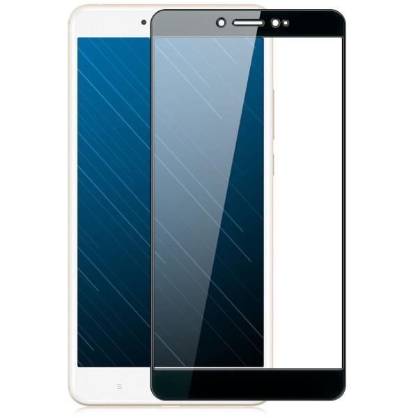 Full Cover Displayschutzglas für Xiaomi Mi Max - Schwarz