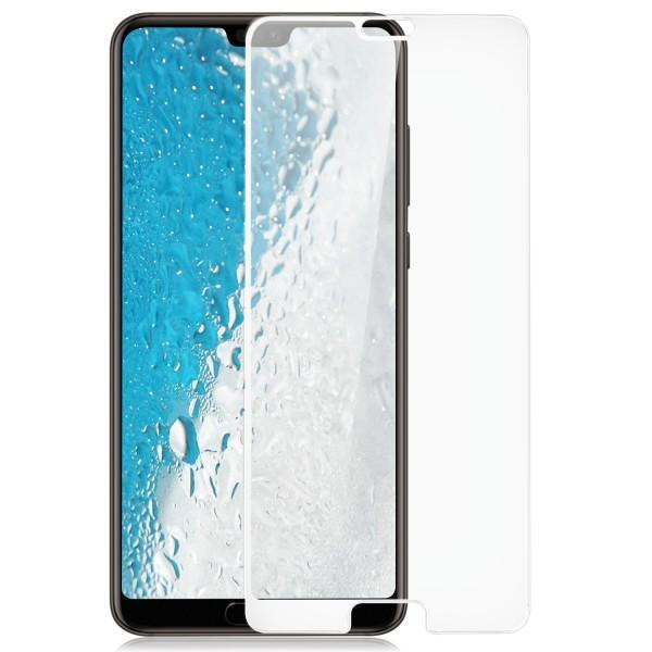Full Cover Displayschutzglas für Huawei P20 - Weiß