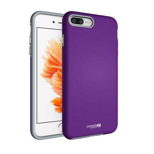 "Hybrid Case für Apple iPhone 8 / 7 (4,7"") - Lila"
