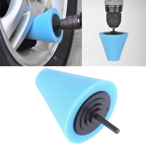 Polieraufsatz für Felgen - Blau