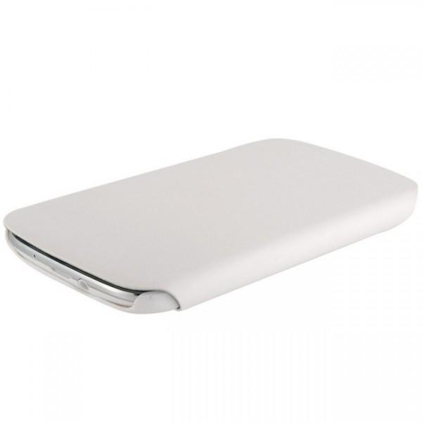 360° Tasche für Samsung Galaxy S3 Weiß