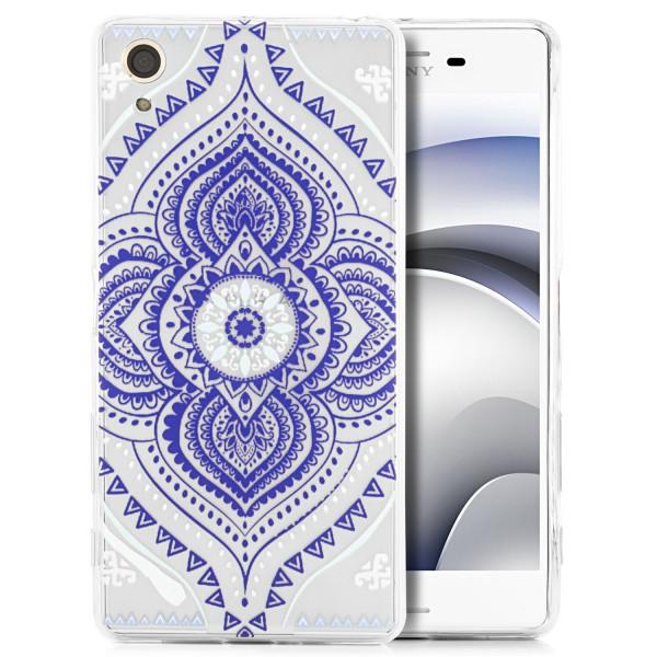 Silikon Motiv Back Cover für Sony Xperia X - Motiv 2