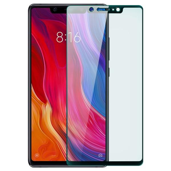 Full Cover Displayschutzglas für Xiaomi Mi 8 SE - Schwarz