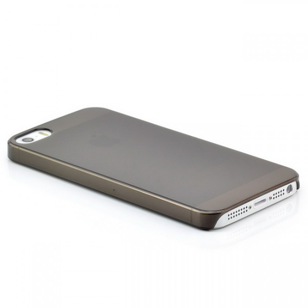 Ultra Slim Back Cover für Apple iPhone 5 & 5S Schwarz