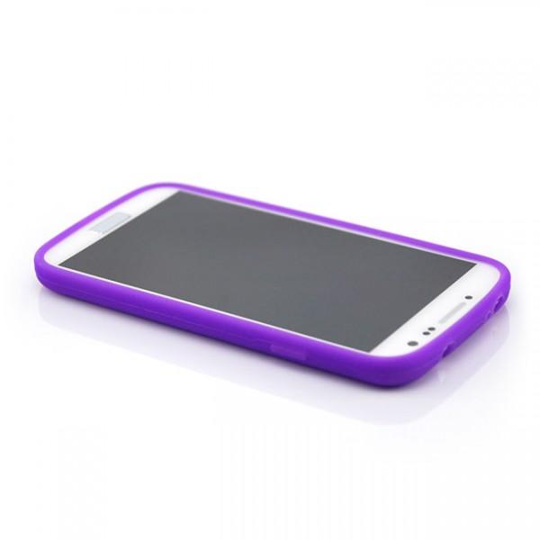 Silikon Case für Samsung Galaxy S4 Violett