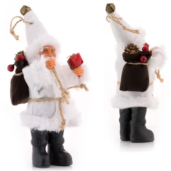 Weihnachtsmann Figur - Weiß