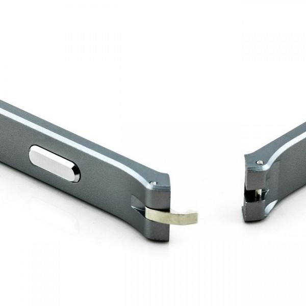 Ultra Slim Aluminium Bumper für Sony Xperia Z2 Grau