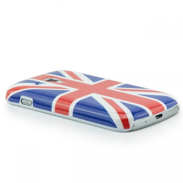 Union Jack Back Cover für Samsung Galaxy S Duos