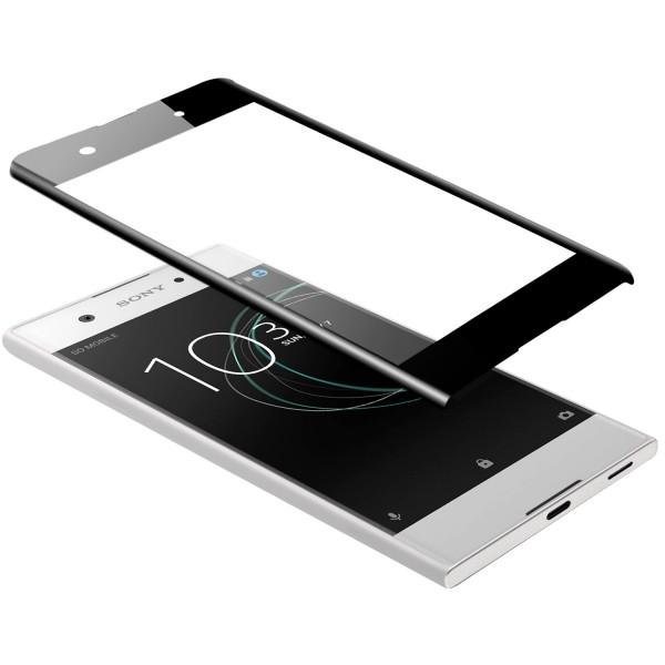 Curved Displayschutzglas für Sony Xperia XA1 - Schwarz