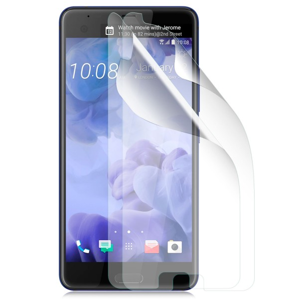 2x Displayschutzfolie für HTC U Ultra - Klar