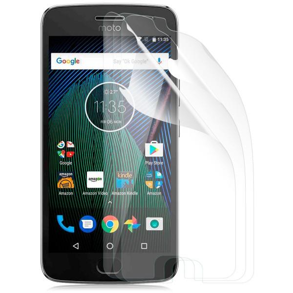 3x Displayschutzfolie für Lenovo Moto G5 Plus - Klar