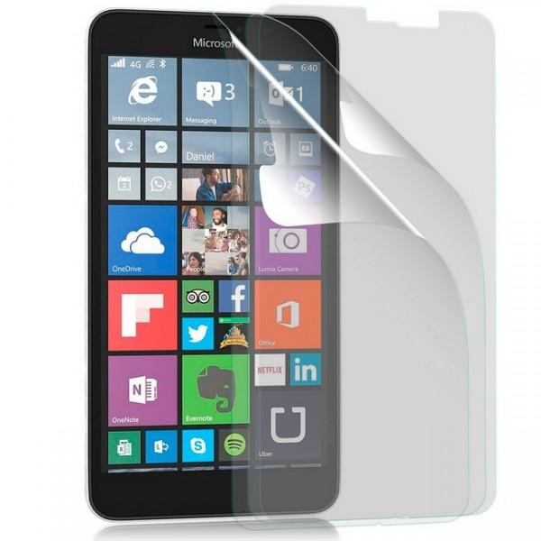 3x Displayschutzfolie für Microsoft Nokia Lumia 640 XL Matt