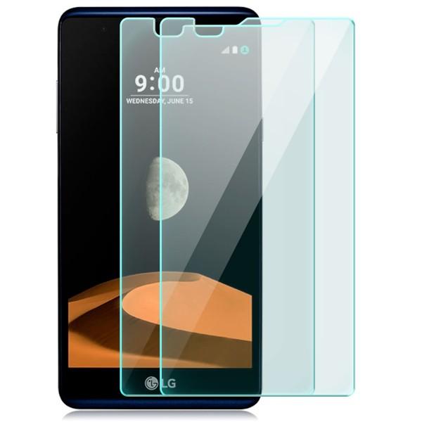 2x Displayschutzglas für LG X Max