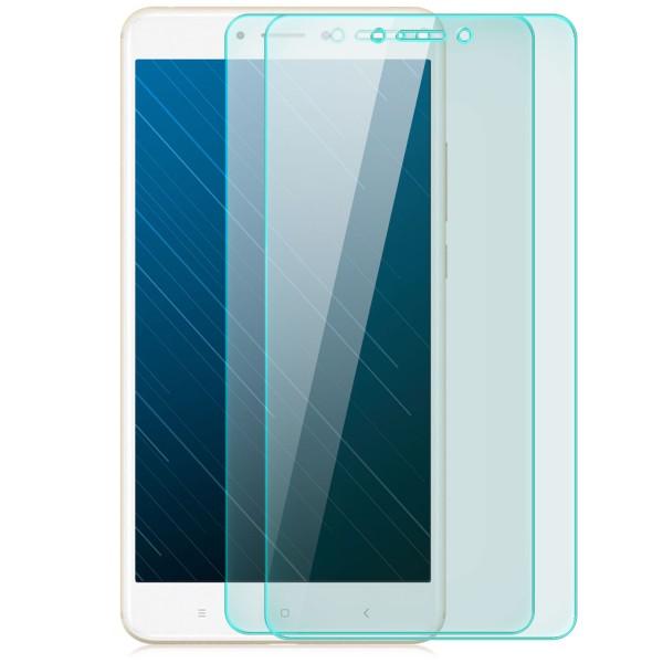 2x Displayschutzglas für Xiaomi Mi Max 2
