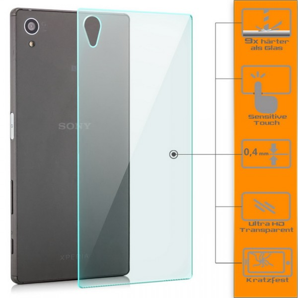 Panzerglas für Sony Xperia Z5 Rückseite