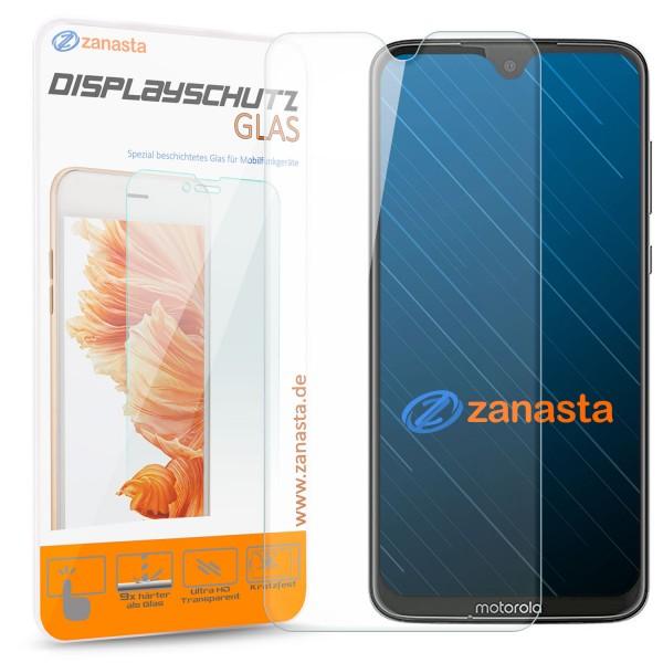 1x Displayschutzglas für Motorola Moto G7 Plus