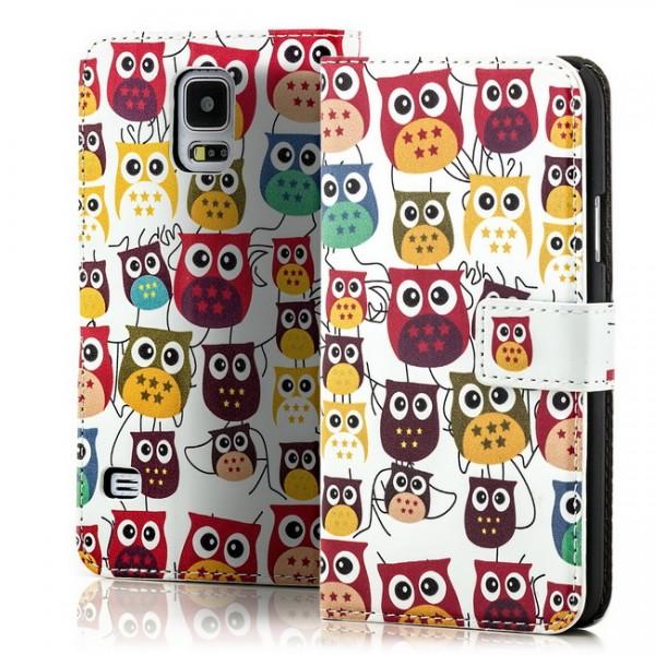 Owl Flip Tasche für Samsung Galaxy S5