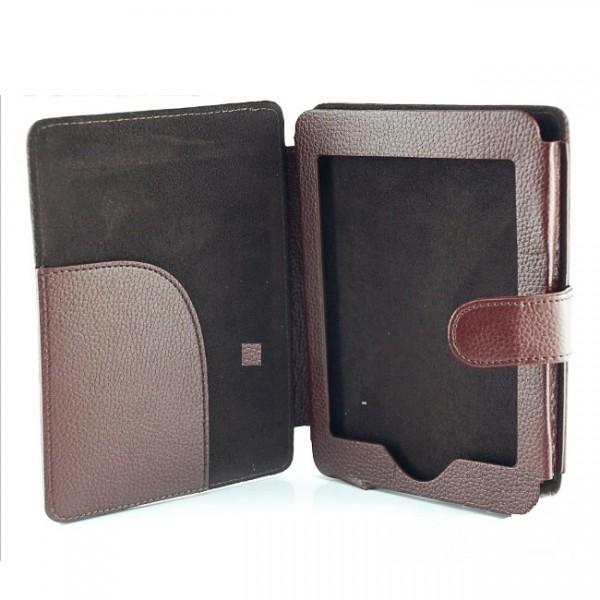 Slim Tasche für Amazon Kindle 4 Braun