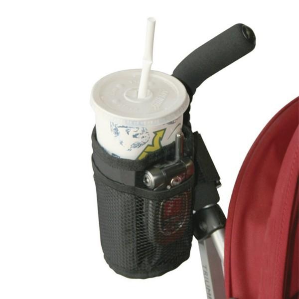 Faltbarer Flaschenhalter für Kinderwagen / Buggy