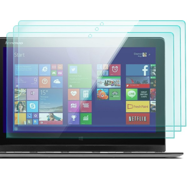 3x Displayschutzglas für Lenovo Yoga 3 Pro