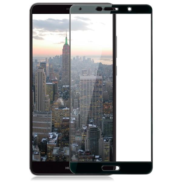 Full Cover Displayschutzglas für Huawei Mate 10 - Schwarz