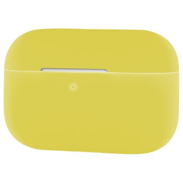 Silikon Case für Apple AirPods Pro - Schutzhülle Schale Hülle - Helles Gelb