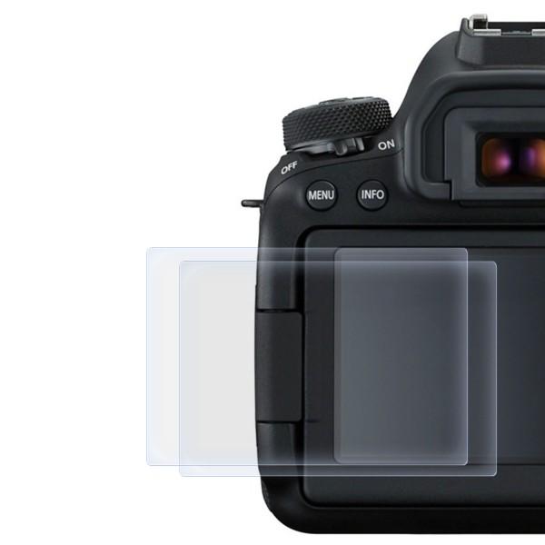 2x Displayschutzfolie für Canon EOS 6D Mark 2
