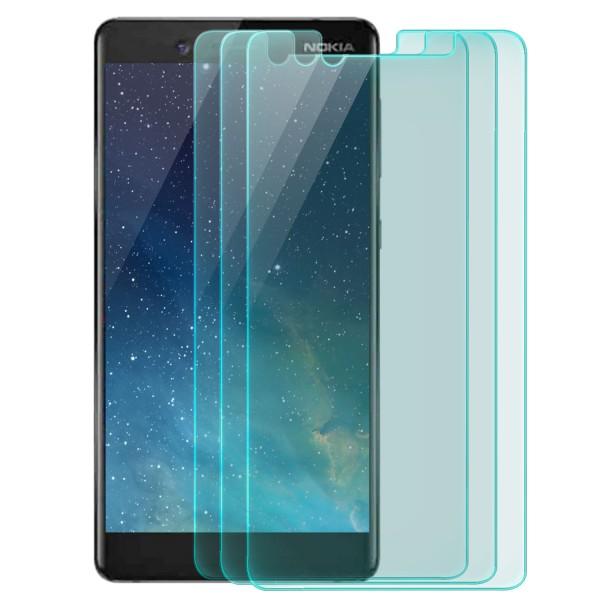 3x Displayschutzglas für Nokia 7