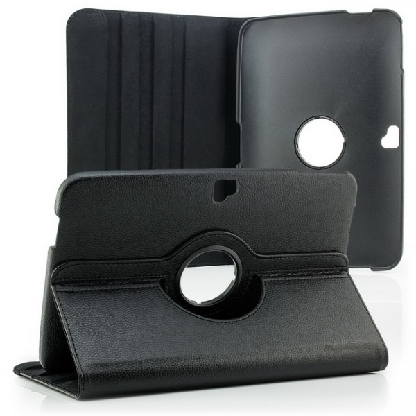 360° Tasche für Samsung Google Nexus 10 Schwarz