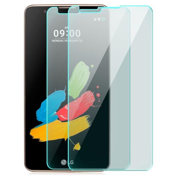 2x Displayschutzglas für LG Stylus 2