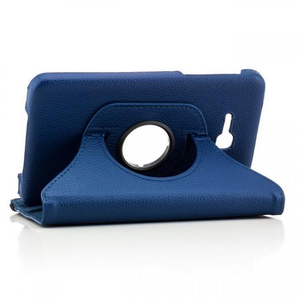 360° Tasche für Samsung Galaxy Tab 3 Lite Blau
