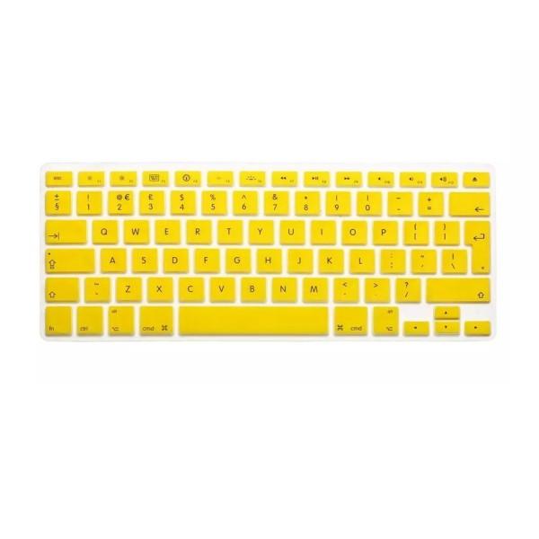 """MacBook Tastatur Cover 13"""" / 15"""" / 17"""" - Gelb"""