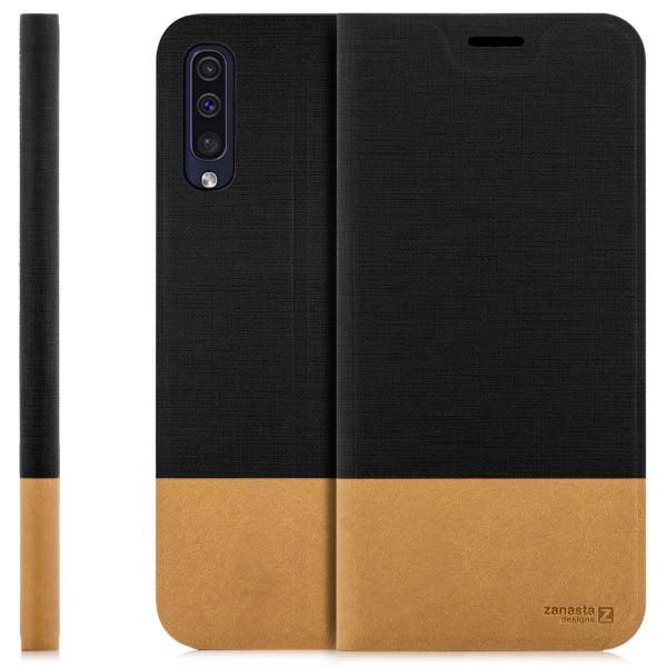 Kunstleder Slim Tasche für Samsung Galaxy A30