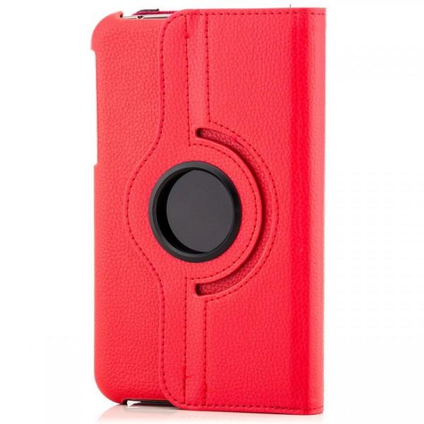 360° Tasche für Samsung Galaxy Tab 3 7.0 Rot