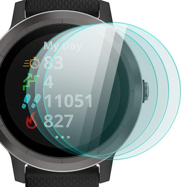 3x Displayschutzglas für Garmin Vivo Active 3