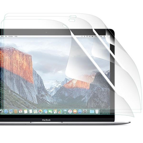 "3x Displayschutzfolie für Apple MacBook Retina 12"""