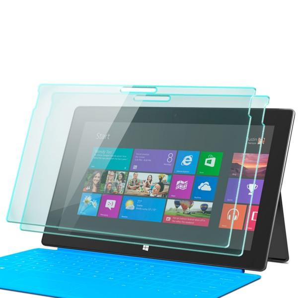 2x Displayschutzglas für Microsoft Surface Pro 4