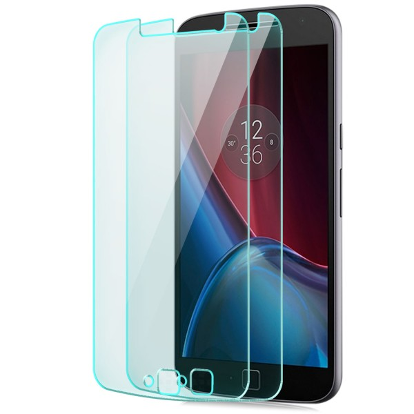 2x Displayschutzglas für Lenovo Motorola Moto G4 Plus