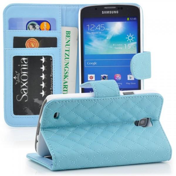 Flip Handytasche für Samsung Galaxy S4 Active Blau