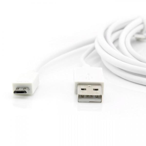 MHL zu HDMI Kabel 11+5Pin Weiß
