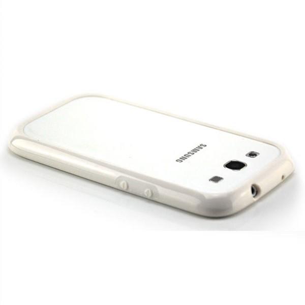 TPU & Silikon Bumper für Samsung Galaxy S3 Weiß