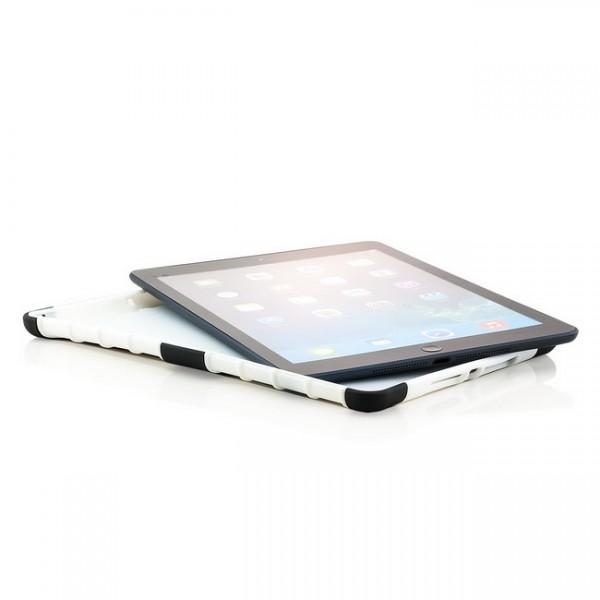 Outdoor Back Cover für Apple iPad Air Schwarz-Weiß