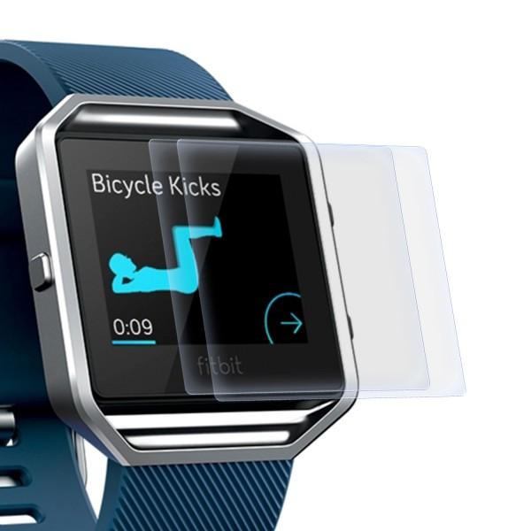 2x Displayschutzfolie für Fitbit Blaze