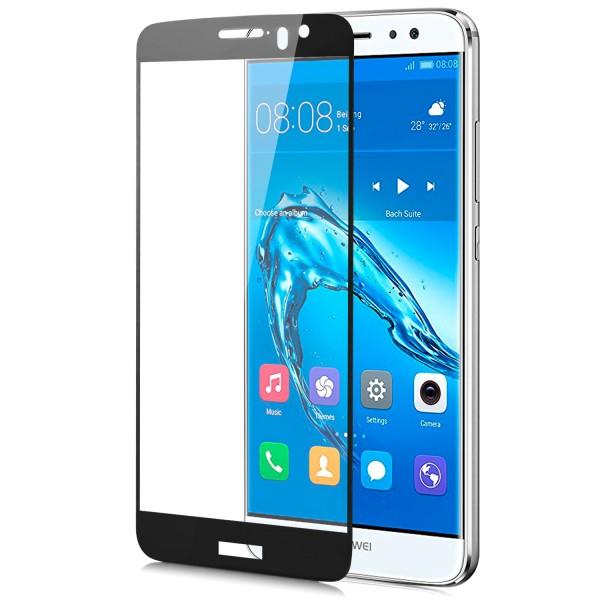 Full Cover Displayschutzglas für Huawei Nova Plus - Schwarz