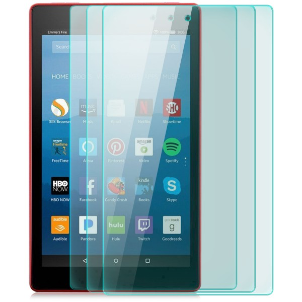 3x Displayschutzglas für Amazon Kindle Fire 7 (2017)