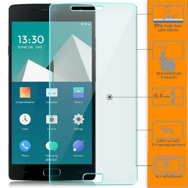 2x Displayschutzglas für OnePlus Two