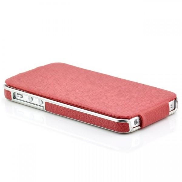 iCareR Electroplating Case für Apple iPhone 5S & 5 Rot