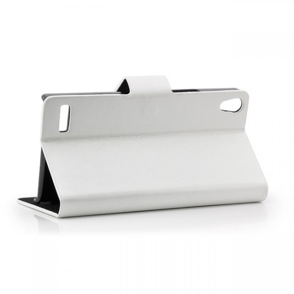 Business Tasche für Huawei Ascend P6 Weiß