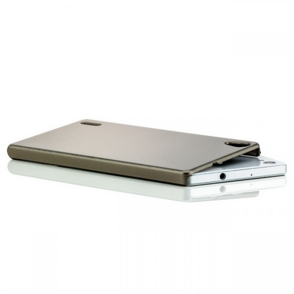 Slim Hard Case für Huawei Ascend P7 Gold-Metallic